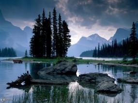 Обои Отражение в воде: , Вода и небо