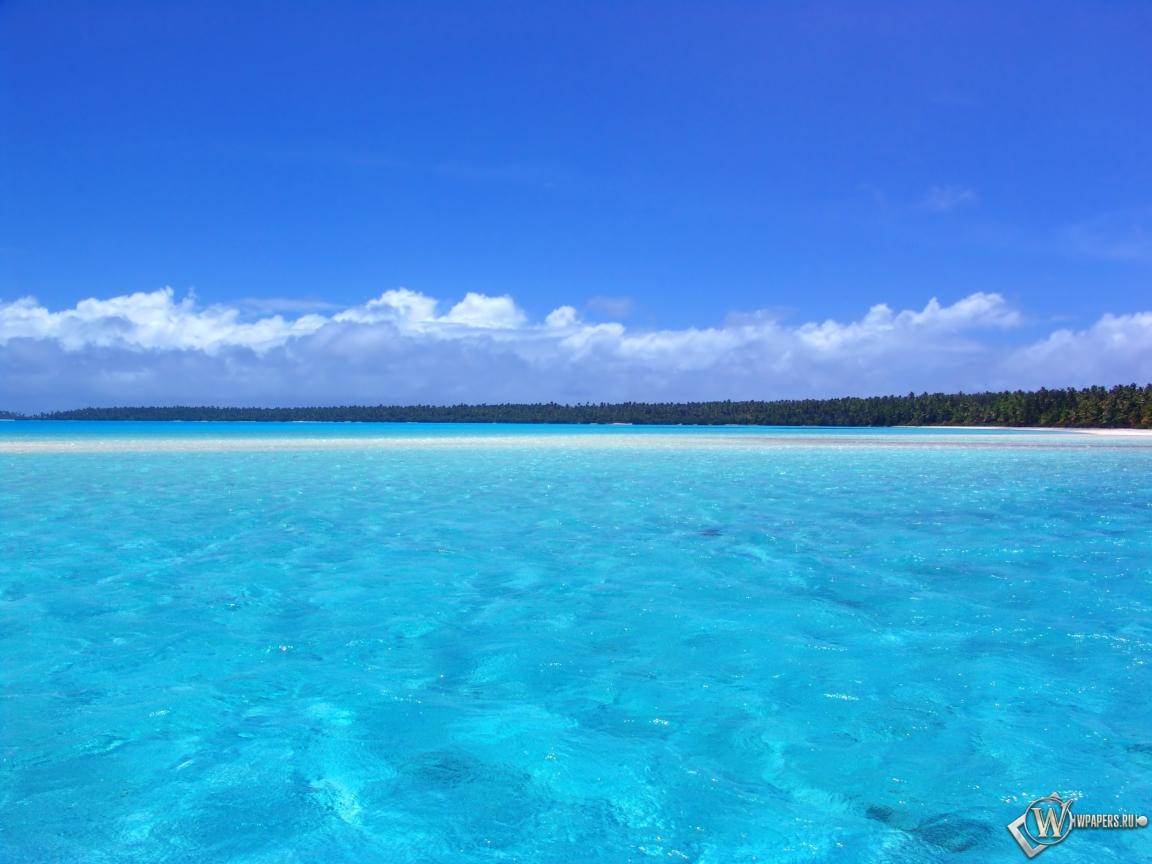 Голубой океан 1152x864