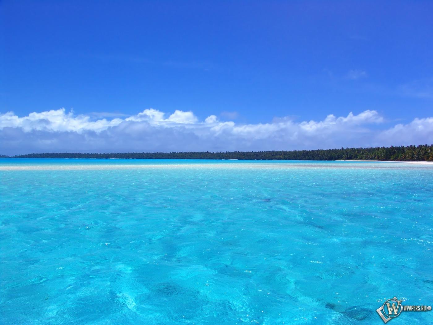 Голубой океан 1400x1050