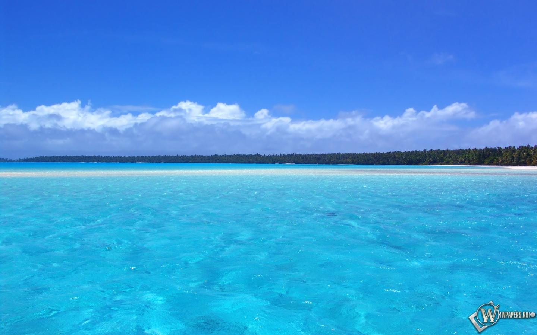 Голубой океан 1440x900