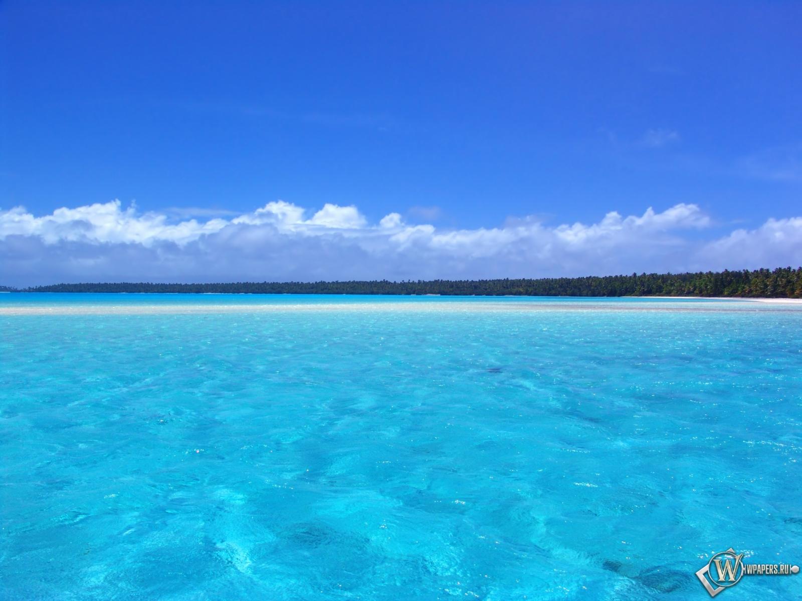 Голубой океан 1600x1200