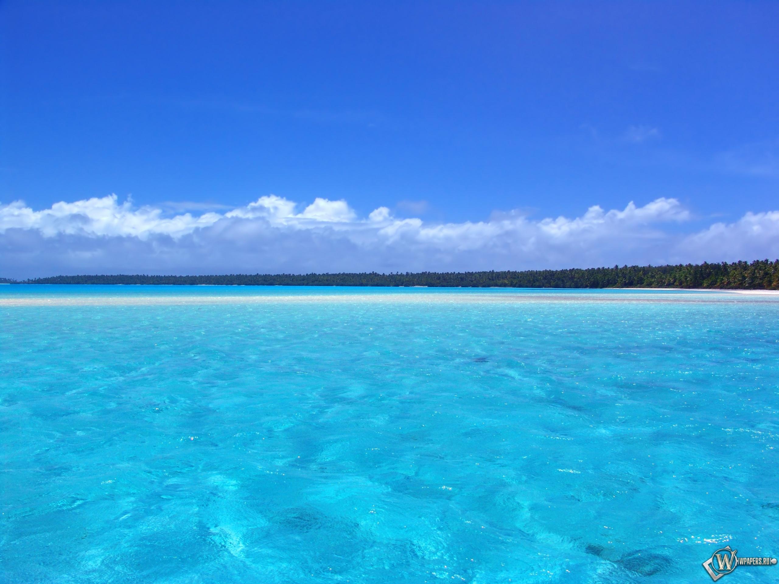 Голубой океан 2560x1920