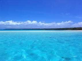Обои Голубой океан: Океан, Небо, Голубой, Relax, Вода и небо