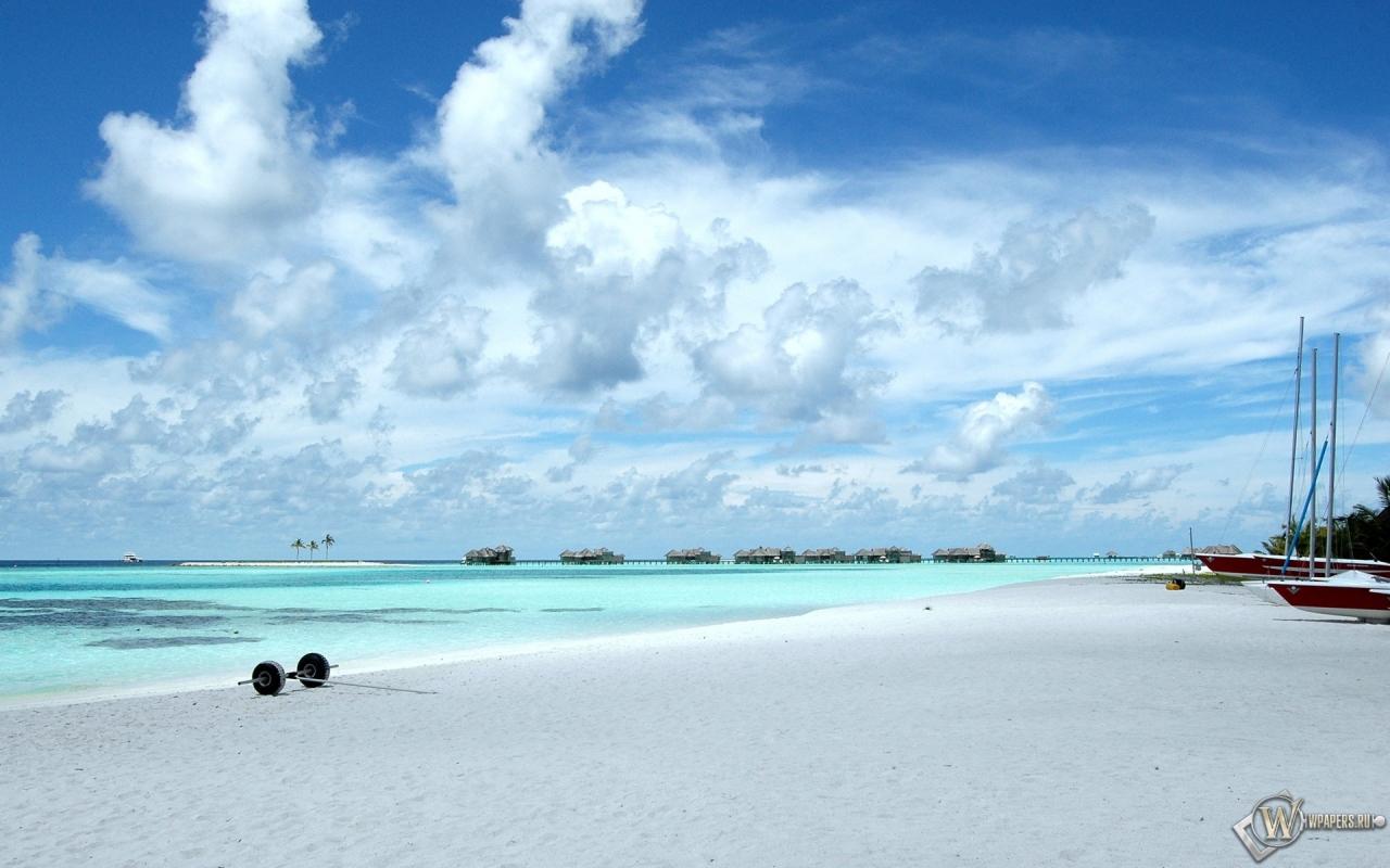 Мальдивы 1280x800