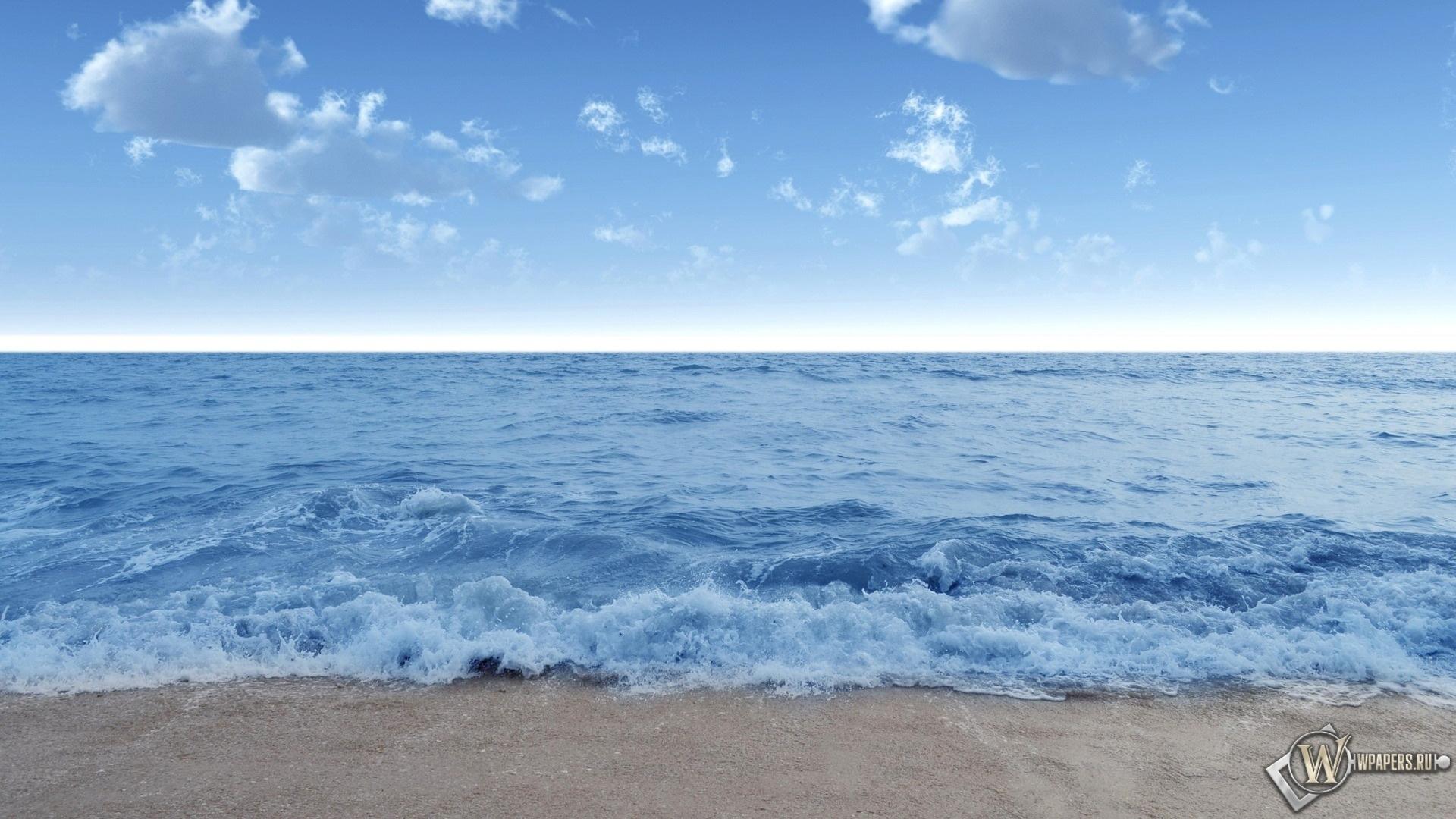 Спокойное море 1920x1080