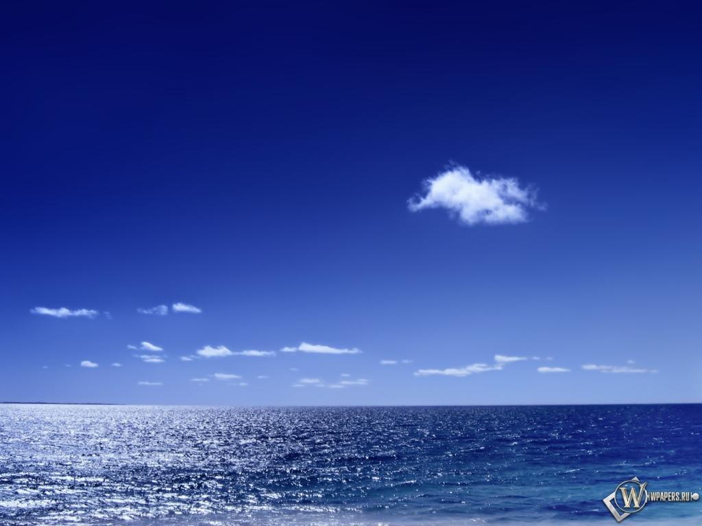 Морской горизонт 1024x768