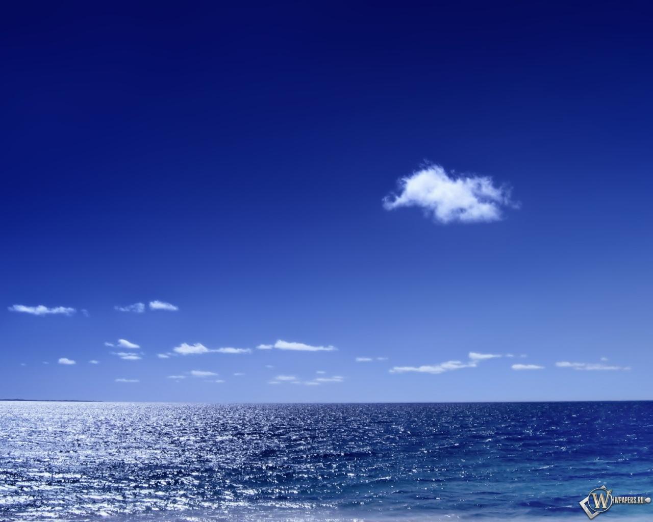 Морской горизонт 1280x1024