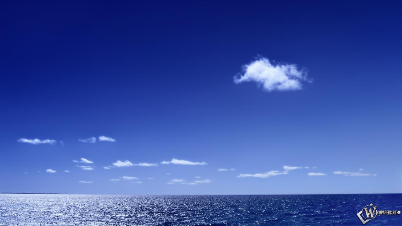 Морской горизонт 1280x720