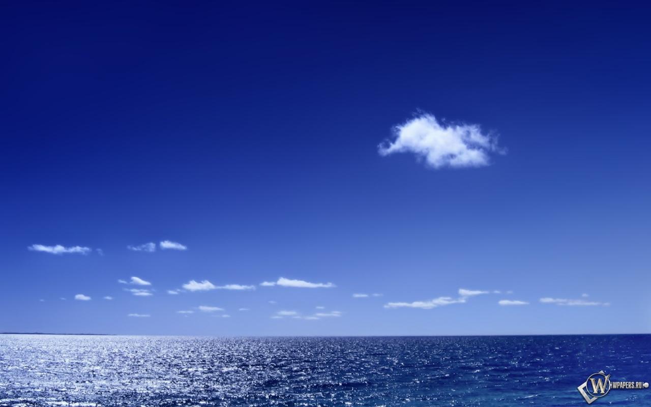 Морской горизонт 1280x800
