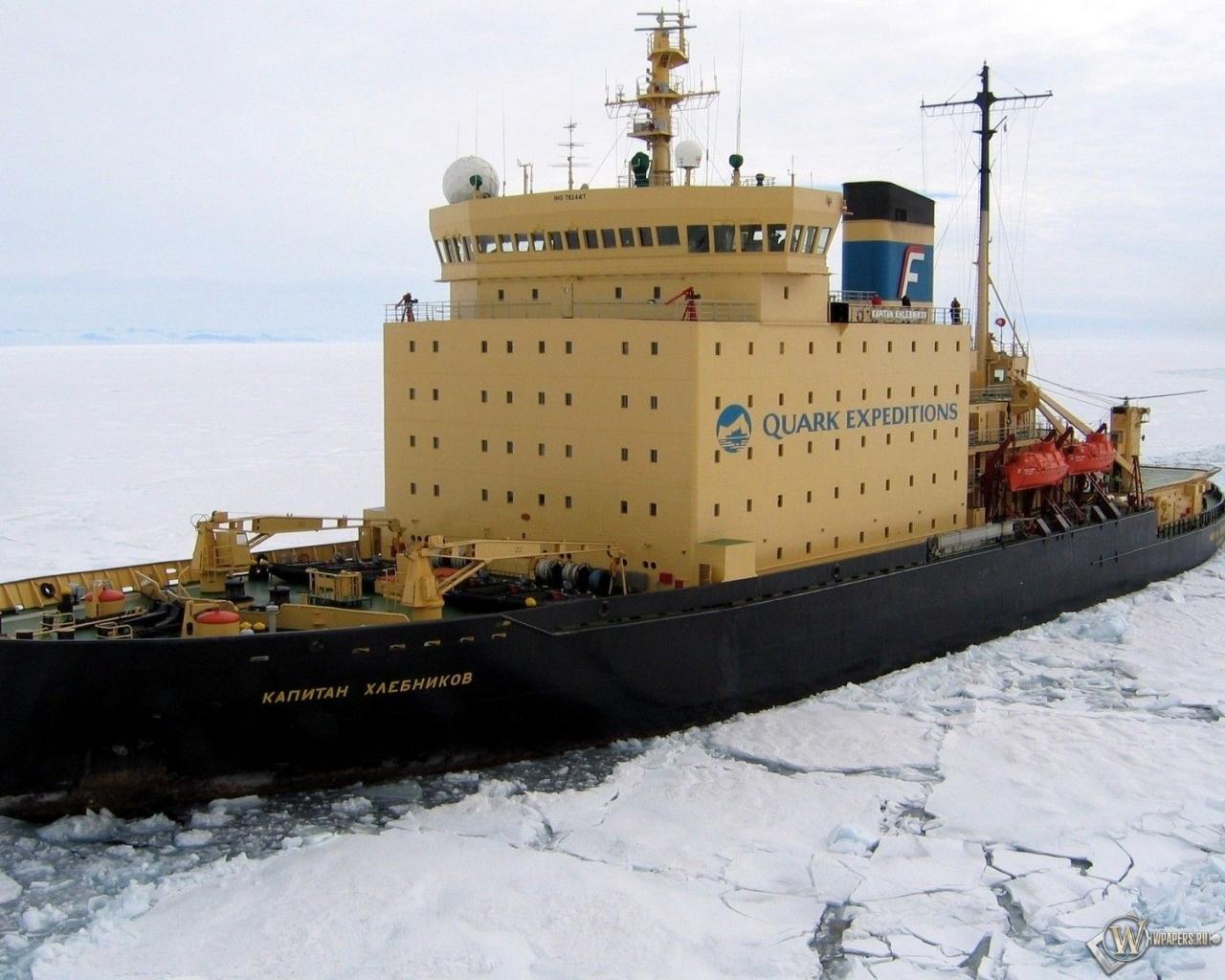 Ледокол капитан Хлебников 1280x1024