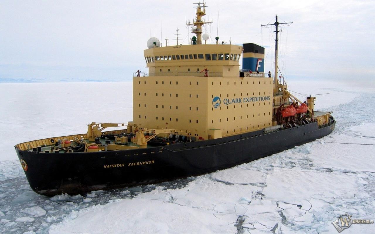 Ледокол капитан Хлебников 1280x800