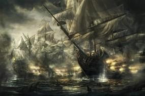 Обои Война флотилий: Война, Корабли, Флотилия, Корабли